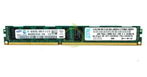 Ibm 4gb Vlp Ddr3 Low Voltage 46c0564 46c0576 43x5614