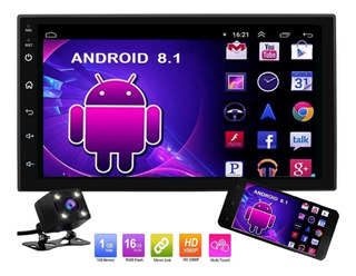 Auto Estéreo Android 8.1 Pantalla Touch Wifi Gps Y Camara