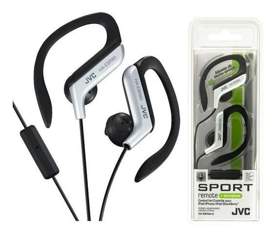Fone De Ouvido Jvc Sport Haebr80 Earclip Com Microfone