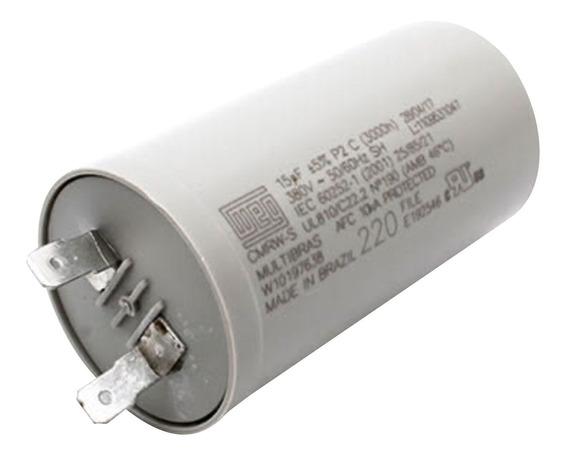 Capacitor 15uf 10% 400v Para Lavadora Original