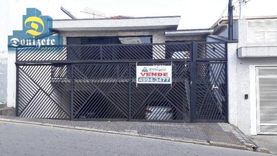 Casa À Venda, 257 M² Por R$ 1.200.000,00 - Santa Maria - São Caetano Do Sul/sp - Ca0554