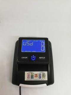 Maquina Portatil Contadora Y Detector Billetes Falsos (110)