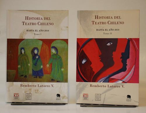 Imagen 1 de 4 de Historia Del Teatro Chileno. 2 Tomos.