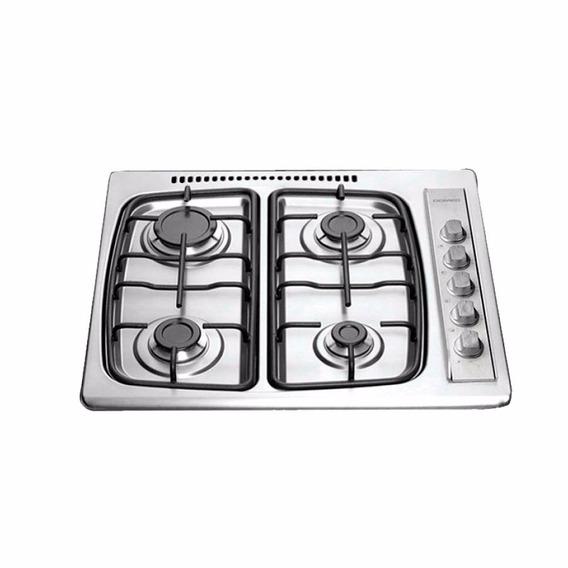 Anafe Domec Avxv 4 Hornallas Acero Ventilacion Selectogar