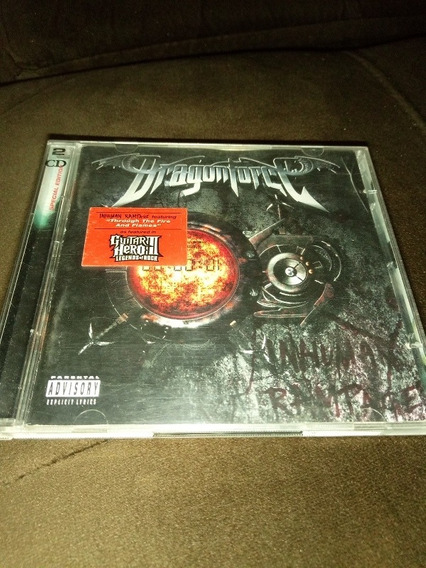 Cd Dragonforce Inhuman Rampage Duplo