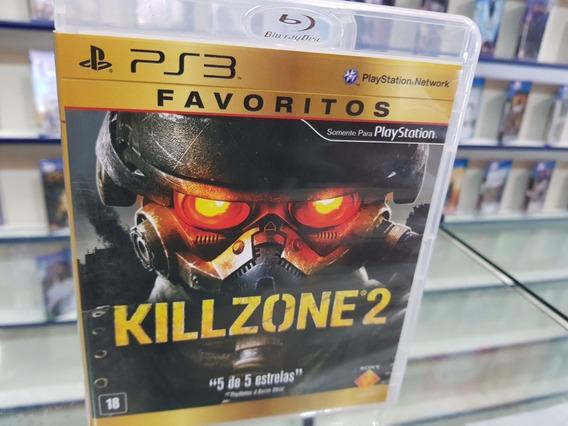 Killzone 2 Usando Original Manuais Ps3 Mídia Física