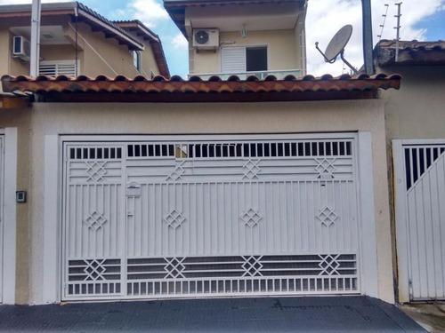Sobrado Residencial À Venda, Jardim Paraventi, Guarulhos. - So0005