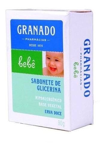 Sabonete Barra De Glicerina Lavanda P/ Bebês 90g - Granado