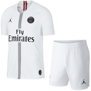 Camiseta + Pantaloneta Jordan Blanca Paris Psg+ Envio Gratis