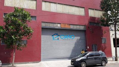 Galpão Comercial Para Locação, Mooca, São Paulo. - Ga0113