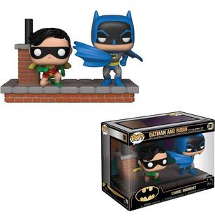 Funko Pop - Batman Y Robin 1964 #281 - Batman 80th - Nuevo