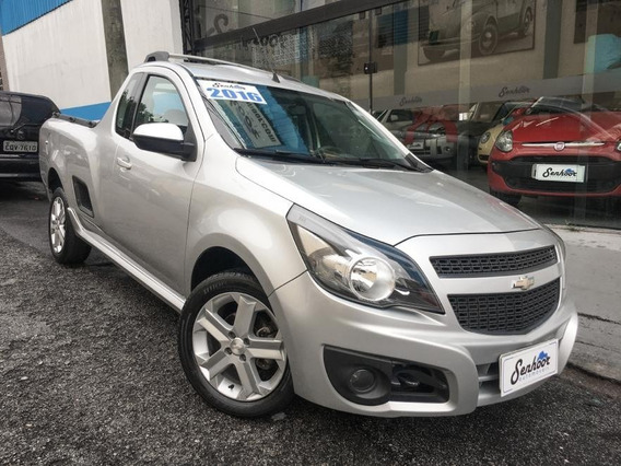 Chevrolet Montana 1.4 Sport Prata - 2016