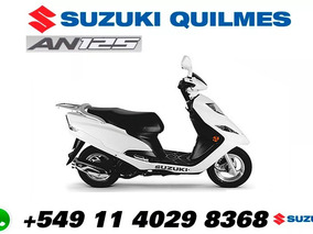 Scooter Suzuki An 125 0km New 2018 Agente Oficial Quilmes