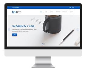 Template Site Empresarial Four Em Html