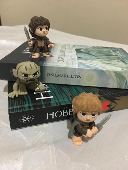 O Hobbit - Livro + Silmarilion + Miniaturas + Promoção