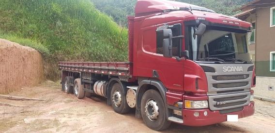 Scania P310 Bitruck 8x2 Ano 2015 Opticruize =mb Volvo Vw 330