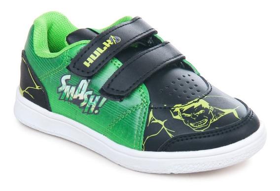 Zapatillas Marvel Casual Increible Hulk Niño Abrojo Avengers