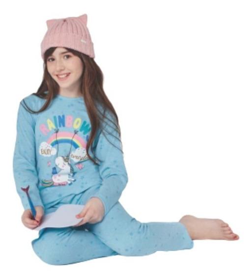 Pijama Nena Niña Invierno Abrigado So Pink!