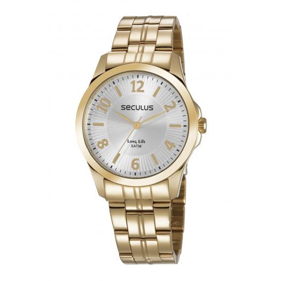 Relógio Seculus Feminino Long Life Analógico 28879lpsvda1