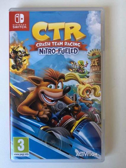 Jogo Nintendo Switch Crash Team Racing Nitro Fueled Chip