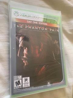 Metal Gear Solid 5 Phantom Pain Nuevo Xbox 360 Envio Gratis