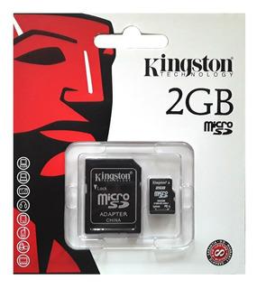 Cartão De Memória Micro Sd Secure Digital 2gb Tf / 002 K