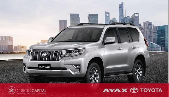 Toyota Land Cruiser Prado 2020 Gris Plata 0km