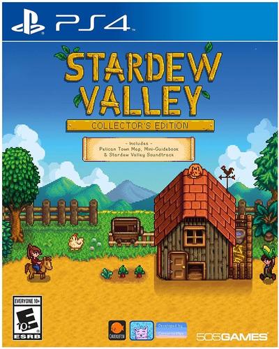 Ps4 Stardew Valley / Collectors Edition / Fisico