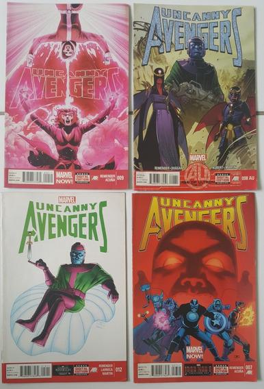 Lote Comics Uncanny Avengers - Em Inglês