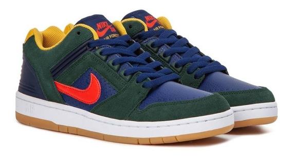 Zapatilla Nike Sb Air Force Ii Low Original Colores