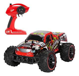 Auto Buggy A Radio Control Remoto Rc 2.4g Bateria Recargable