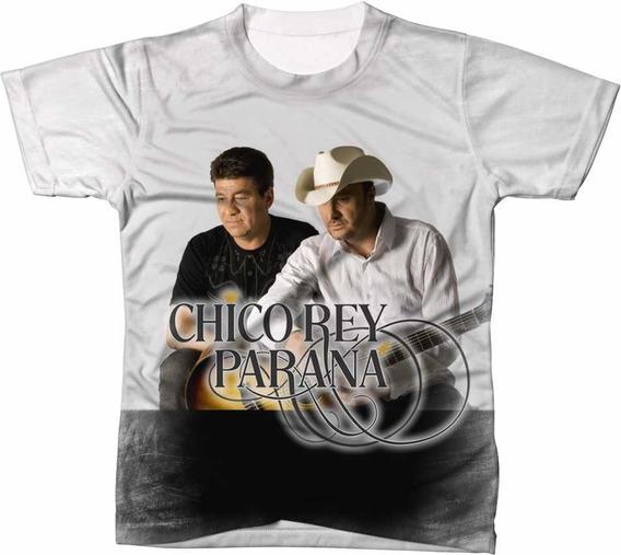 Camisa Camiseta Chico Rei E Parana Cantor