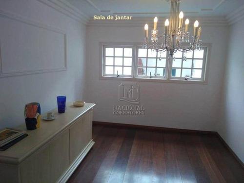 Imagem 1 de 30 de Sobrado Com 3 Dormitórios À Venda, 244 M² Por R$ 765.000,00 - Utinga - Santo André/sp - So4176