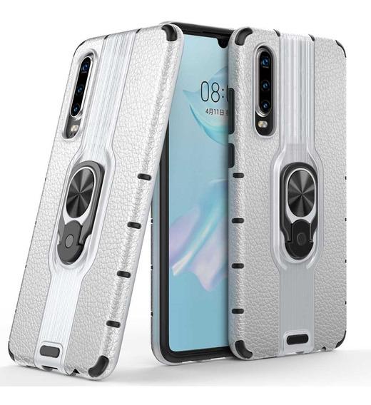 Funda Huawei Uso Rudo Protector Stand Anillo Case Reforzado