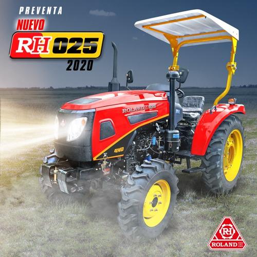 Nuevo Tractor Roland H025 4x4 25 Hp Con Convertidor