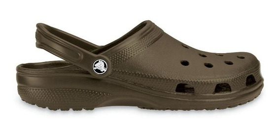 Crocs Hombre Mujer Clasic Clasicas Chocolate Original