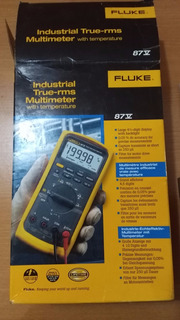 Multimetro Fluke 87v, True Rms Con Temperatura, Transitorios