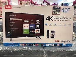 Smart Tv Tcl 43 4k Roku