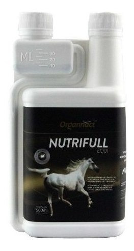 Nutrifull Equi 500 Ml Cavalo Organnact 500ml Pet Shop Store