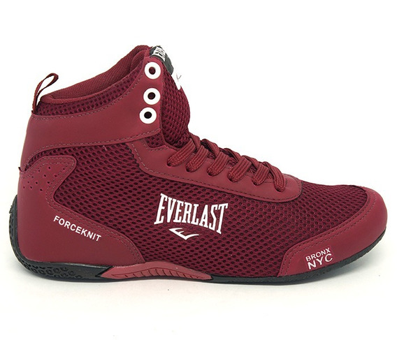 Tênis Everlast Forceknit Bordô Academia Jump Crossfit Box
