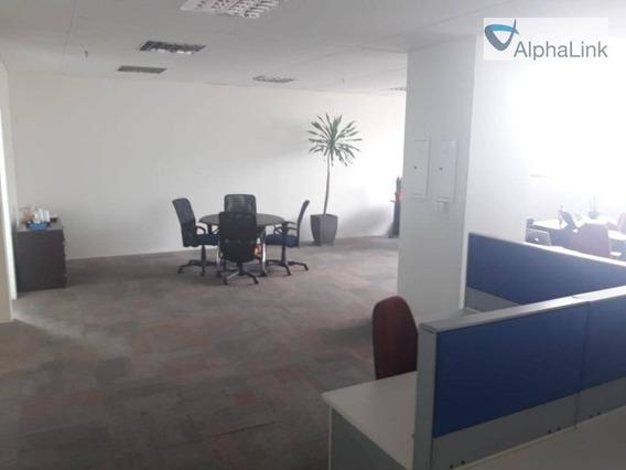 Sala Comercial 163 M² 2 Vagas 18 Do Forte Empresarial - Sa0284