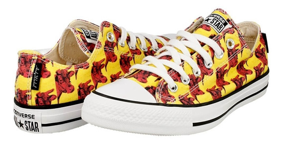 Originales Converse Andy Warhol - Yellow Red Bulls 151034c