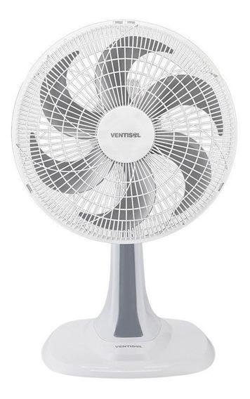 Ventilador Oscilante Turbo Ventisol 6 Pás 30cm Branco 127v