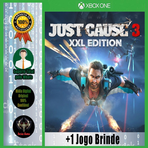 Just Cause 3 Xxl Edition Xbox One Midia Digital + 1 Jogo