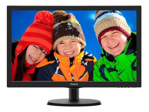 "Monitor Philips V 223V5LHSB LCD 21.5"" negro 110V/220V"