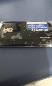 Lcd Samsung Com Flaty Hmx F900 + Frete Grátis