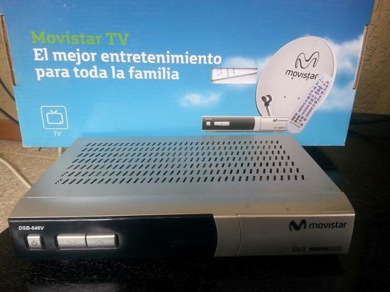 Antena Movistar Mas Decodificador Y Control