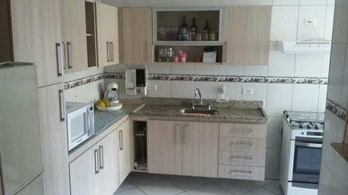Linda Cobertura Sem Condominio, 186 M², Utinga Santo André, 3 Dorms, 1 Suíte, 3 Sacadas, 4 Vagas. - 55047