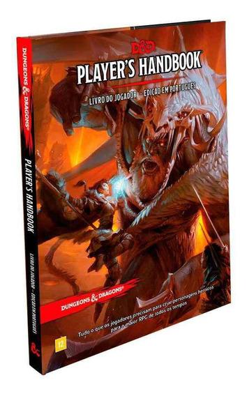 Dungeons Dragons Players Handbook Livro Do Jogador Portugues