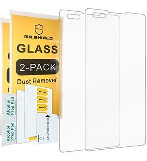 2pack Mr Shield Para Lg X Style Lg X Skin Cristal Templado